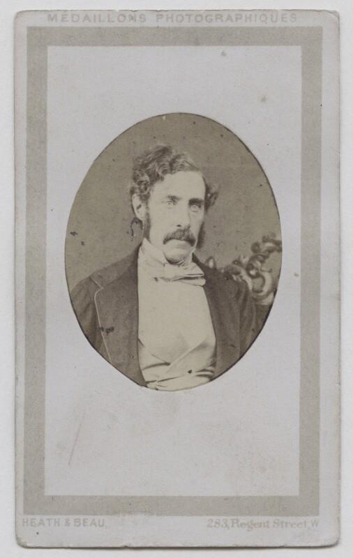 Sir George Grey, by Heath & Beau, 1861-1863 - NPG x137826 - © National Portrait Gallery, London