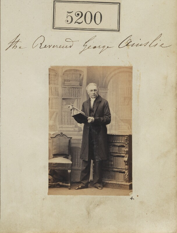 George Ainslie, by Camille Silvy, 26 July 1861 - NPG Ax55203 - © National Portrait Gallery, London