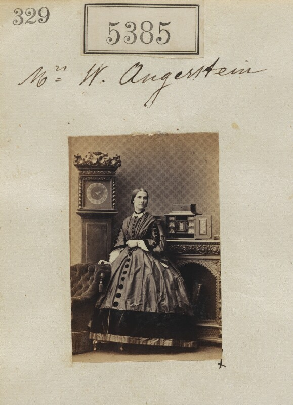 Probably Mary Ann Angerstein (née Nettleship), by Camille Silvy, 8 August 1861 - NPG Ax55345 - © National Portrait Gallery, London