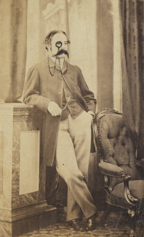 Robert Allan Eden, by Unknown photographer, late 1850s-early 1860s - NPG Ax137852 - © National Portrait Gallery, London