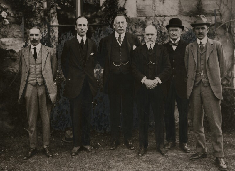 The Ulster Cabinet, 1920, by Unknown photographer, 29 June 1920 - NPG x137950 - © National Portrait Gallery, London