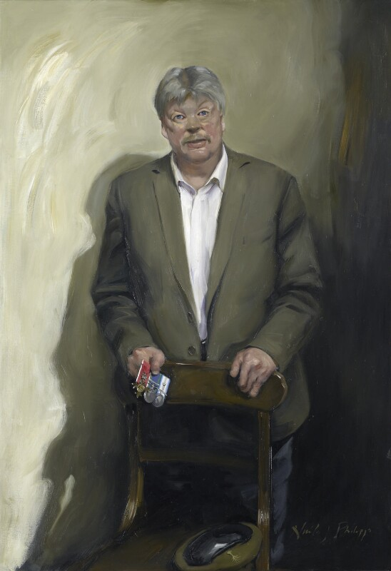 Simon Weston, by Nicky Philipps, 2014 - NPG 6984 - © National Portrait Gallery, London (NPG 6984) Commissioned jointly by the National Portrait Gallery and the BBC, 2013