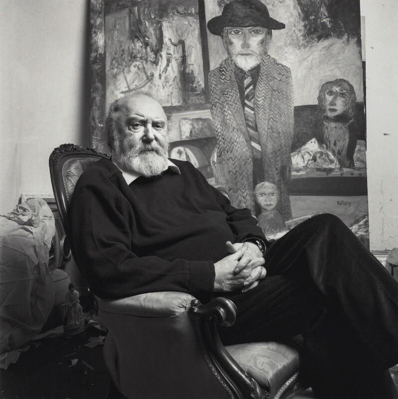 John Bellany, by Norman McBeath, April 2007 - NPG x137965 - © Norman McBeath / National Portrait Gallery, London
