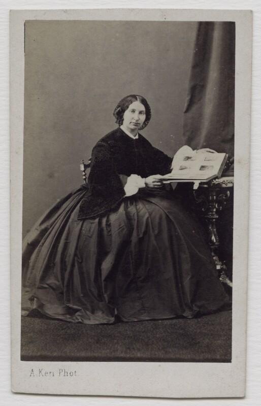 Louisa (née Montefiore), Lady de Rothschild, by Alexandre Ken, 1860s - NPG x138007 - © National Portrait Gallery, London