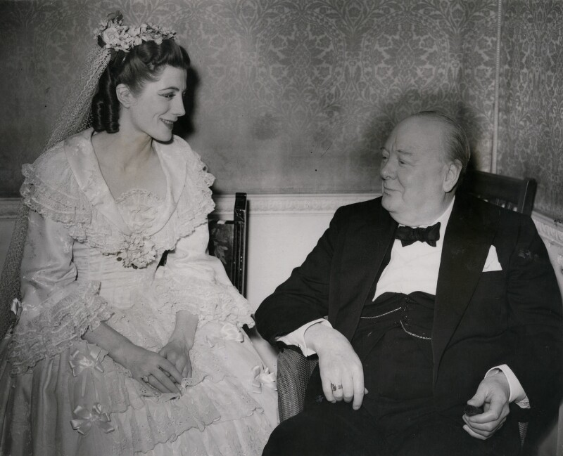 Sarah Churchill; Winston Churchill, by Planet News, 21 May 1948 - NPG x184313 - © reserved; collection National Portrait Gallery, London