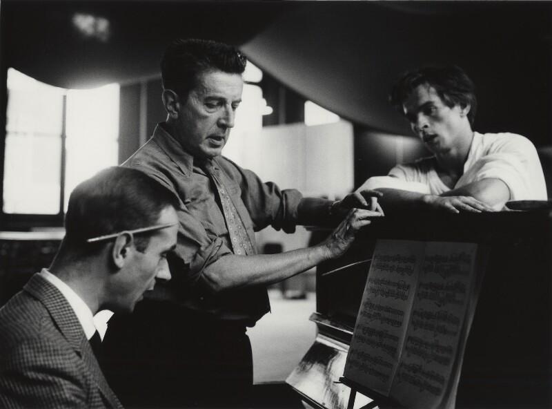 Sir Frederick Ashton; Rudolf Nureyev, by Michael Peto, February 1962 - NPG x138053 - © University of Dundee The Peto Collection