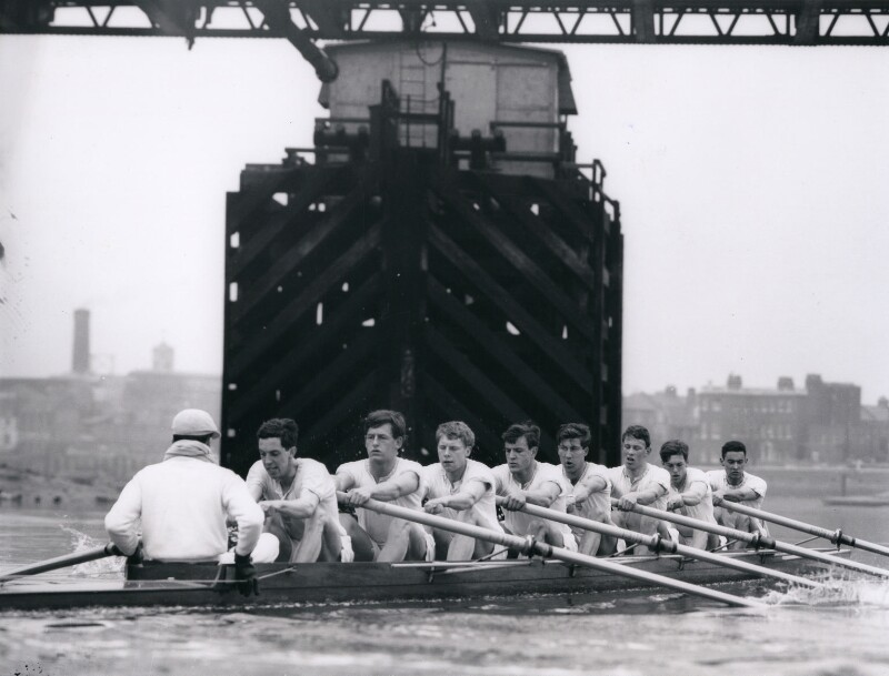 Cambridge rowing crew, 1963, by Central Press, 23 March 1963 - NPG x184366 - © Getty Images