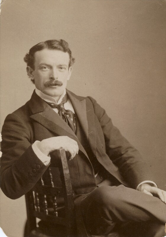 David Lloyd George, by Elliott & Fry, 1898 - NPG x194001 - © National Portrait Gallery, London