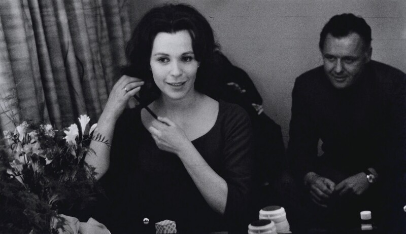 Claire Bloom; Rod Steiger, by Michael Peto, March 1962 - NPG x138163 - © University of Dundee The Peto Collection