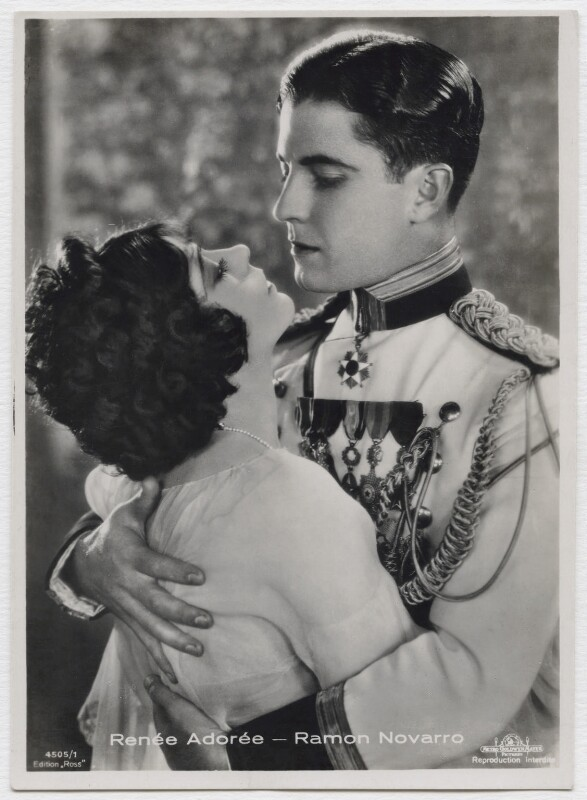 Renée Adorée and Ramon Novarro in 'Forbidden Hours', by Unknown photographer, 1928 - NPG x138168 - © National Portrait Gallery, London