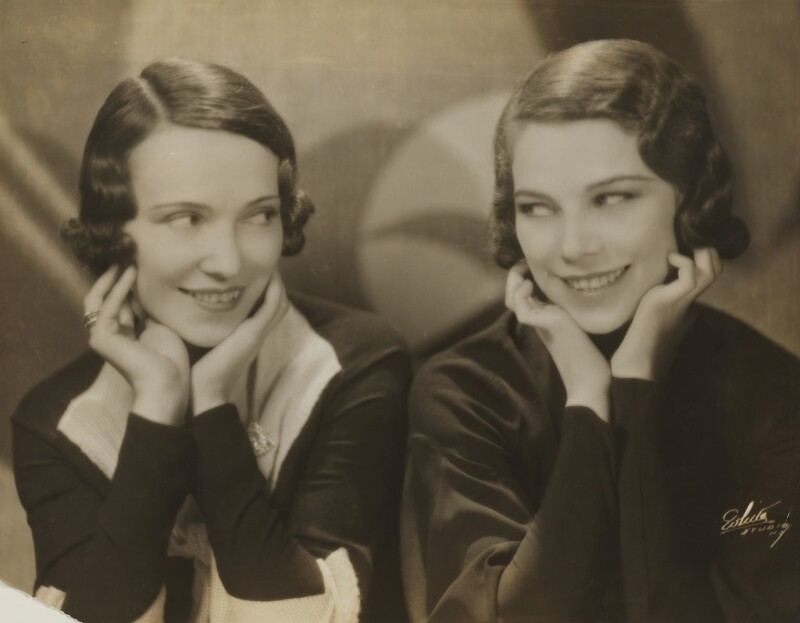 Adèle Astaire (Lady Charles Cavendish) and Tilly Losch in 'The Band Wagon', by Unknown photographer, 1931 - NPG x194037 - © National Portrait Gallery, London