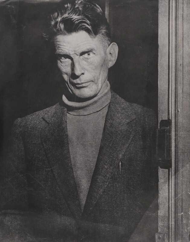 Samuel Beckett, by Unknown photographer, October 1966 - NPG x194046 - © reserved; National Portrait Gallery, London