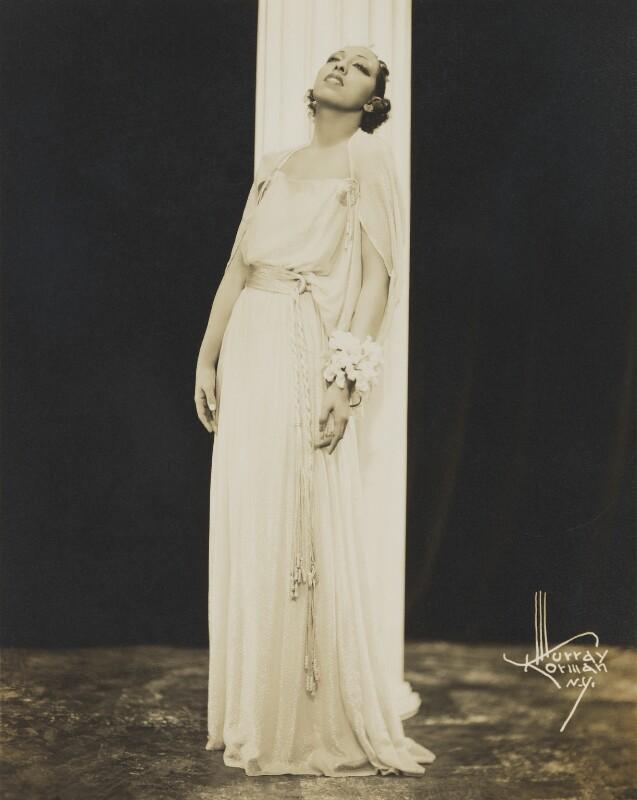 Josephine Baker, by Murray Korman, 1936 - NPG x138145 - © National Portrait Gallery, London