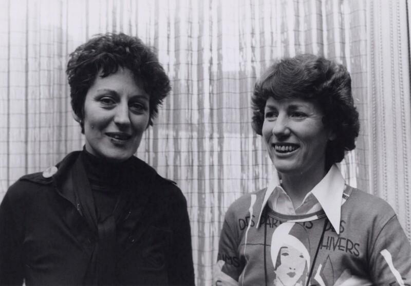 Germaine Greer; Elizabeth Anne Reid, by Keystone Press Agency Ltd, March 1975 - NPG x194094 - © Keystone Press Agency Ltd