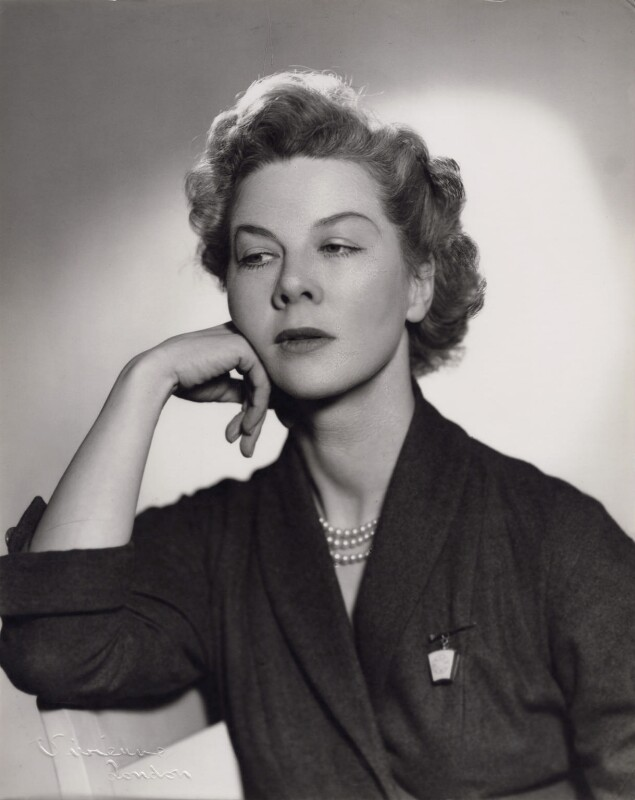Dame Wendy Margaret Hiller, by Vivienne, circa 1945 - NPG x194103 - © reserved; collection National Portrait Gallery, London