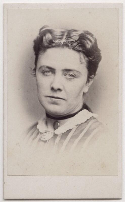 Marie Effie (née Wilton), Lady Bancroft, by William Walker & Sons, 1862-1866 - NPG x197064 - © National Portrait Gallery, London