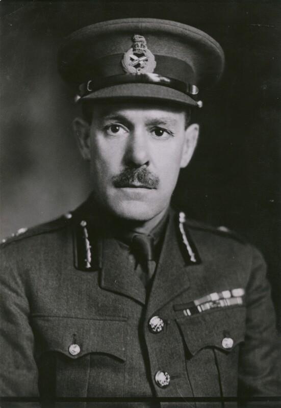 Sir Giffard Le Quesne Martel, by Elliott & Fry, 1942 - NPG x182179 - © National Portrait Gallery, London