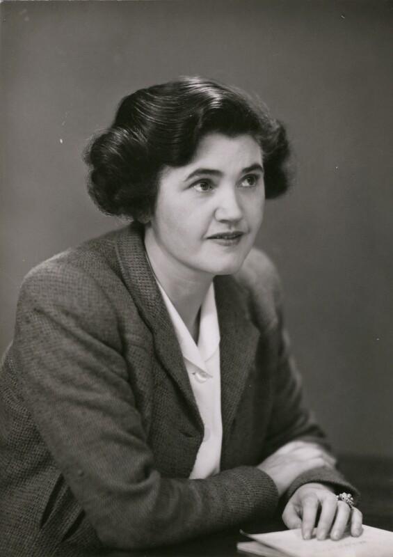 Janet Bevan (Jennie Lee), Baroness Lee of Asheridge, by Elliott & Fry, 1940s - NPG x182180 - © National Portrait Gallery, London