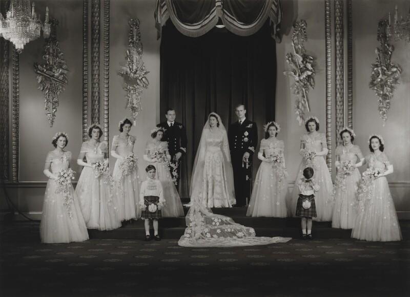 Queen Elizabeth Ii Wedding.Npg X158907 Wedding Of Queen Elizabeth Ii And Prince Philip Duke
