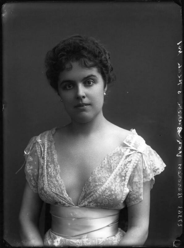Baroness Van Buren, by Bassano Ltd, circa 1904 - NPG x158925 - © National Portrait Gallery, London