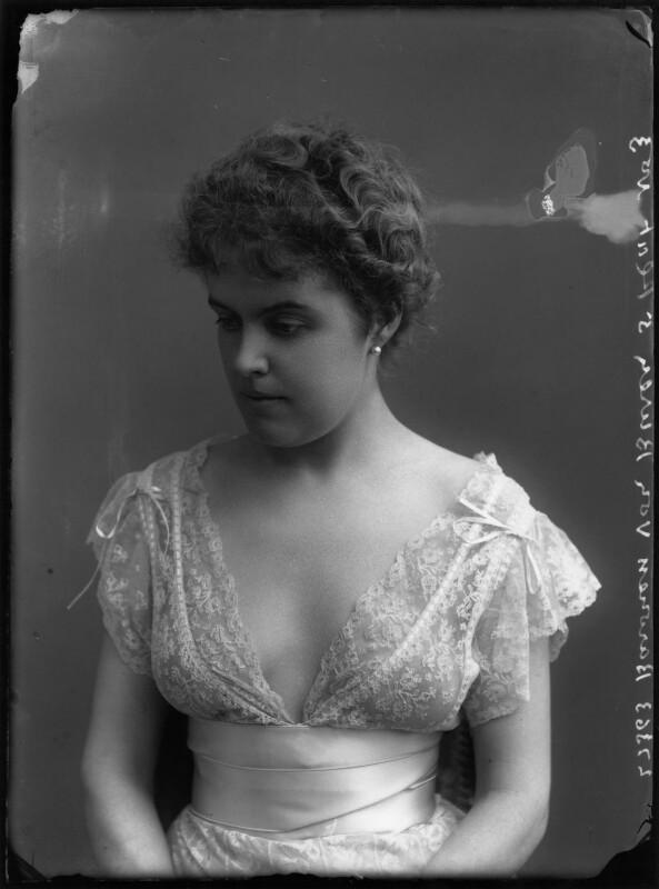 Baroness Van Buren, by Bassano Ltd, circa 1904 - NPG x158927 - © National Portrait Gallery, London