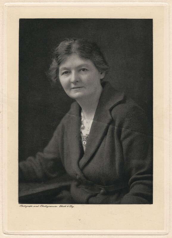 Margaret Grace Bondfield, by Elliott & Fry, circa 1924 - NPG x194240 - © National Portrait Gallery, London