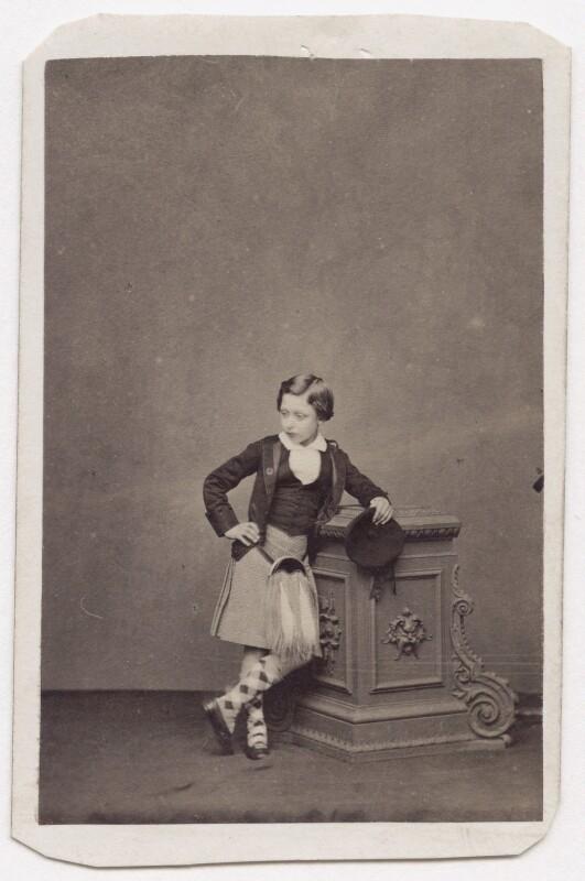 Prince Arthur, 1st Duke of Connaught and Strathearn, by John Jabez Edwin Mayall, 1860 - NPG x197212 - © National Portrait Gallery, London