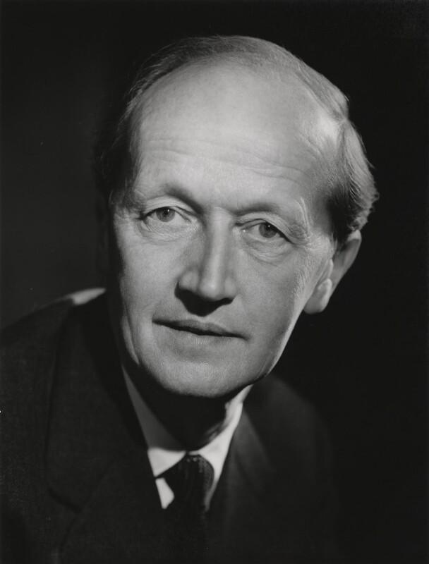 Lionel Gordon Baliol Brett, 4th Viscount Esher, by Walter Bird, 18 November 1965 - NPG x186961 - © National Portrait Gallery, London