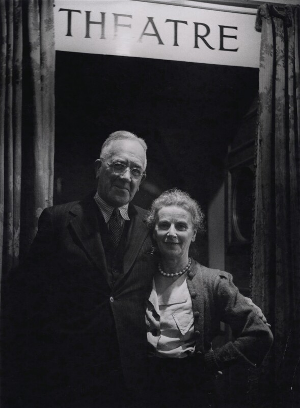 Ashley Dukes; Marie Rambert, by Tom Blau, for  Camera Press: London: UK, 1950s - NPG x194311 - © Camera Press / Tom Blau