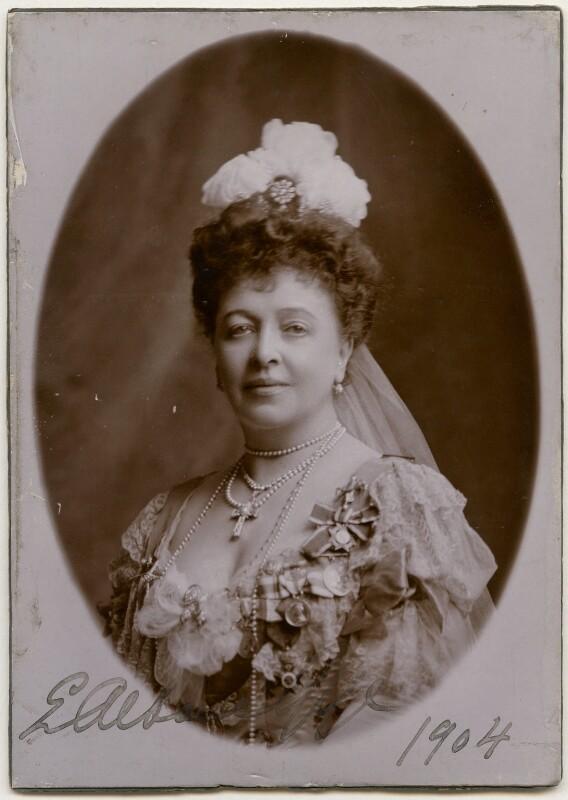 Emma Albani, by Lafayette, circa 1904 - NPG x197239 - © National Portrait Gallery, London