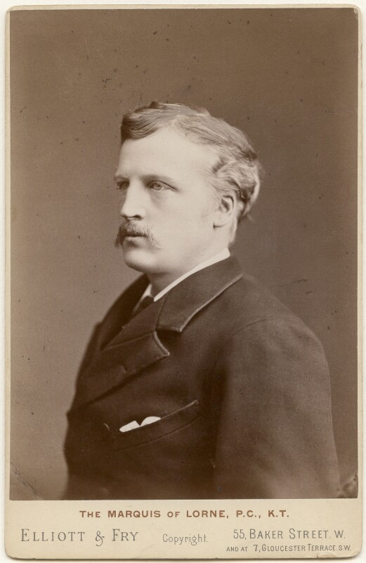 John Campbell, 9th Duke of Argyll, by Elliott & Fry, 1886-1892 - NPG x197244 - © National Portrait Gallery, London