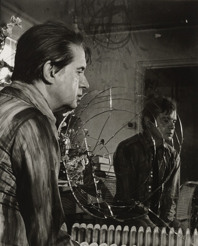 Francis Bacon, by Mayotte Magnus, 1977 - NPG x138805 - © Mayotte Magnus / National Portrait Gallery, London