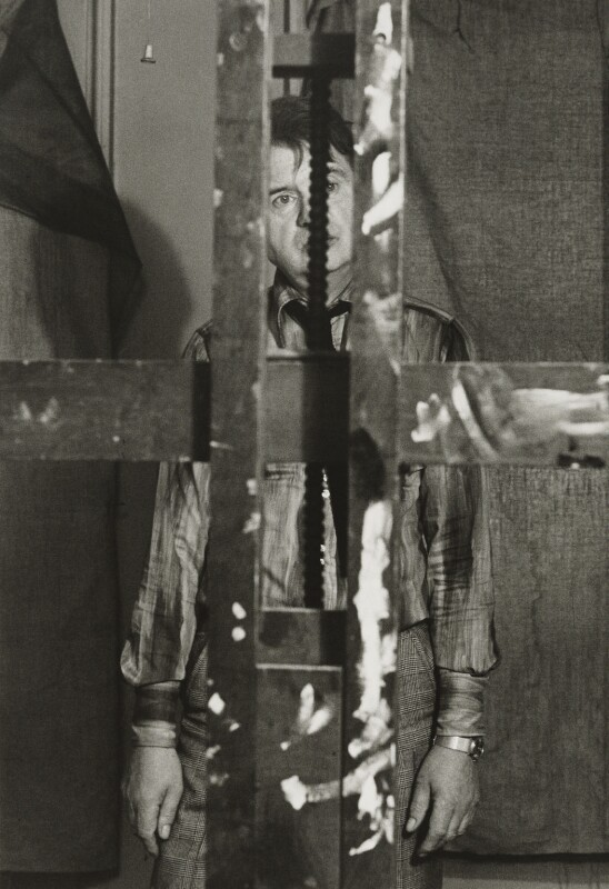 Francis Bacon, by Mayotte Magnus, 1977 - NPG x138807 - © Mayotte Magnus / National Portrait Gallery, London