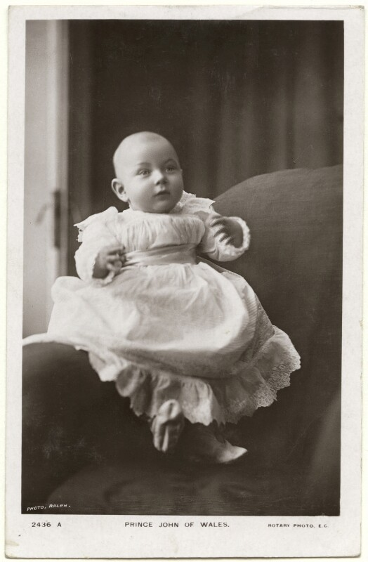 Prince John, by Frederick William Ralph, published by  Rotary Photographic Co Ltd, 1905 - NPG x138939 - © National Portrait Gallery, London