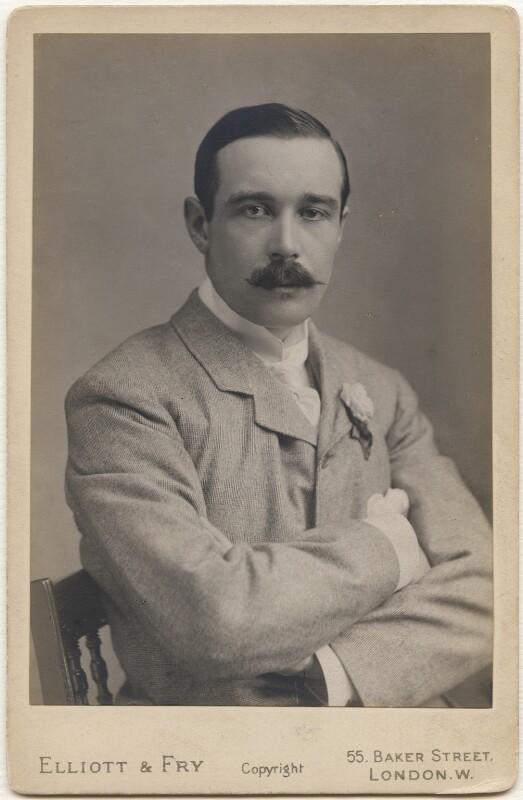 (James) Henry Dalziel, 1st Baron Dalziel of Kirkcaldy, by Elliott & Fry, 1890s - NPG x138943 - © National Portrait Gallery, London