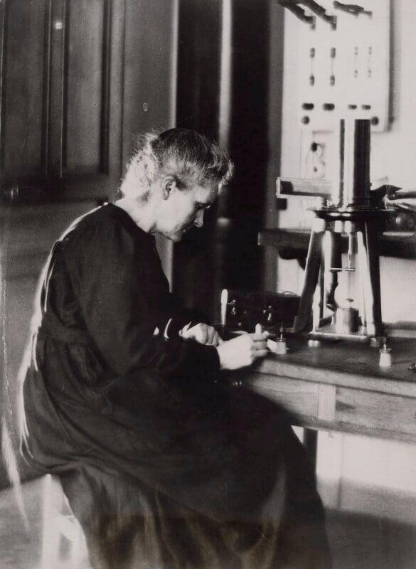 Marie Curie, by Pacific & Atlantic Photos Ltd, 1923 - NPG x138968 - © National Portrait Gallery, London