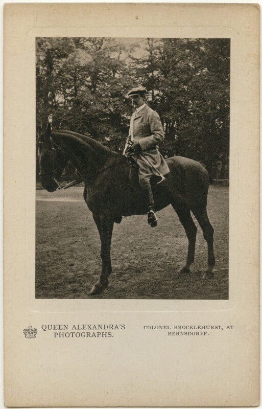 John Fielden Brocklehurst, 1st Baron Ranksborough, by Queen Alexandra, published by  A.V.N. Jones & Co, published circa 1908 - NPG x197339 - © National Portrait Gallery, London