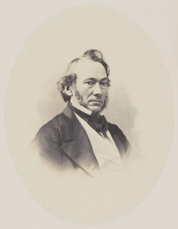 Richard Cobden, by Eastham & Bassano, 1859-1860 - NPG x134937 - © National Portrait Gallery, London
