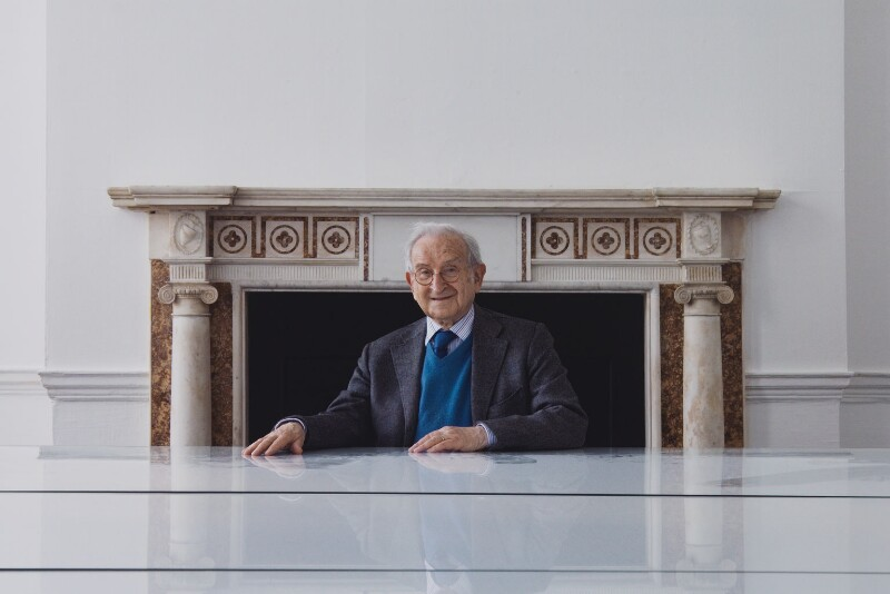 Joseph Rykwert, by Valerie Bennett, 2008 - NPG x139544 - © Valerie Bennett / National Portrait Gallery, London