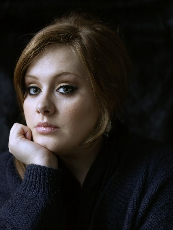 Adele, by Julian Broad, 17 February 2008 - NPG x139549 - © Julian Broad / National Portrait Gallery, London