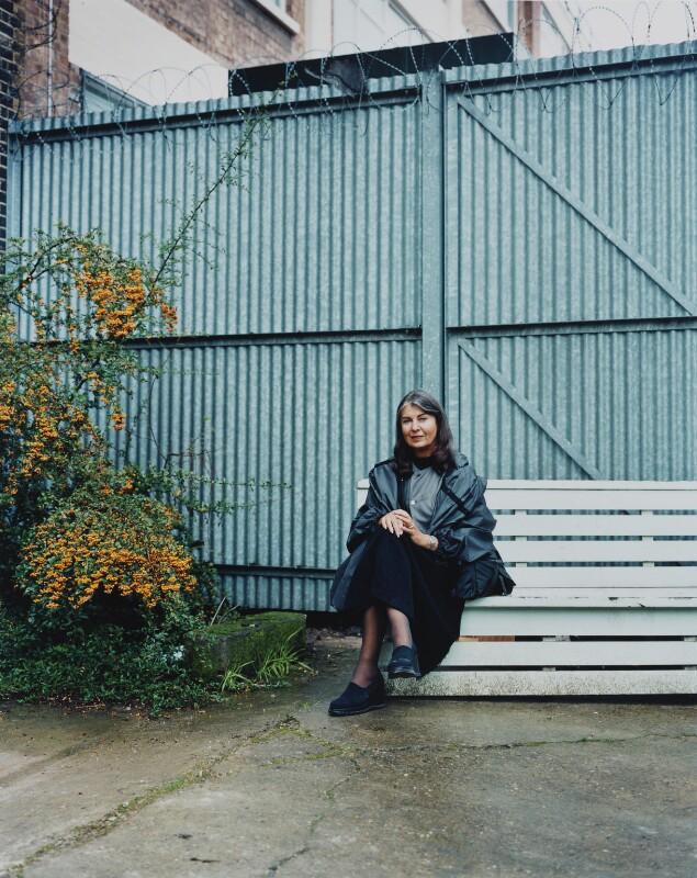 Victoria Miro, by Julian Broad, 19 October 2000 - NPG x139551 - © Julian Broad / National Portrait Gallery, London