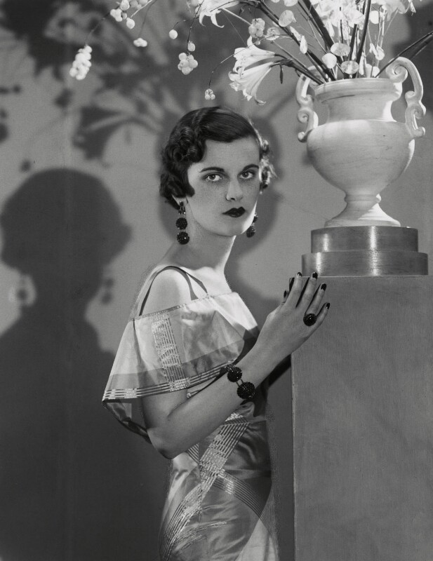 (Ethel) Margaret Campbell (née Whigham), Duchess of Argyll, by Paul Tanqueray, 1934 - NPG x180283 - © estate of Paul Tanqueray