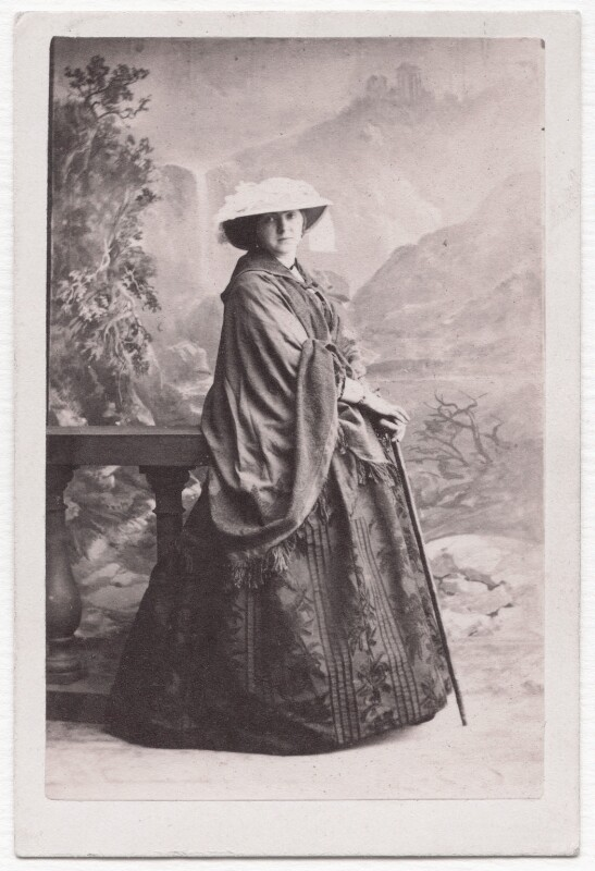 Henrietta Blanche (née Stanley), Countess of Airlie, by Camille Silvy, 1860 - NPG x139583 - © National Portrait Gallery, London