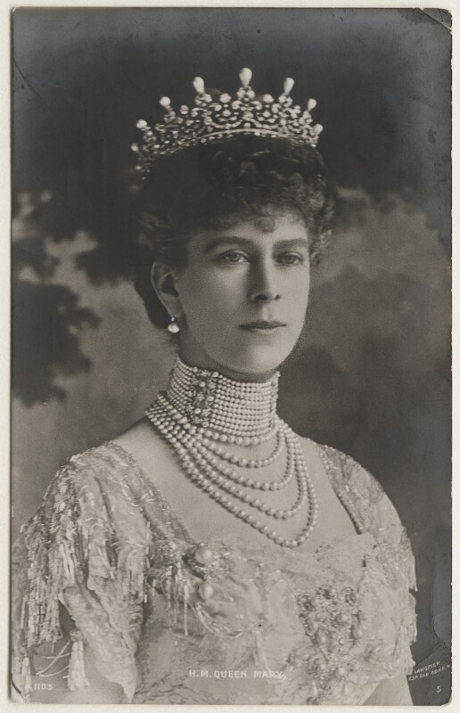 Queen Mary, by Langfier Ltd, 1910s - NPG x197373 - © National Portrait Gallery, London
