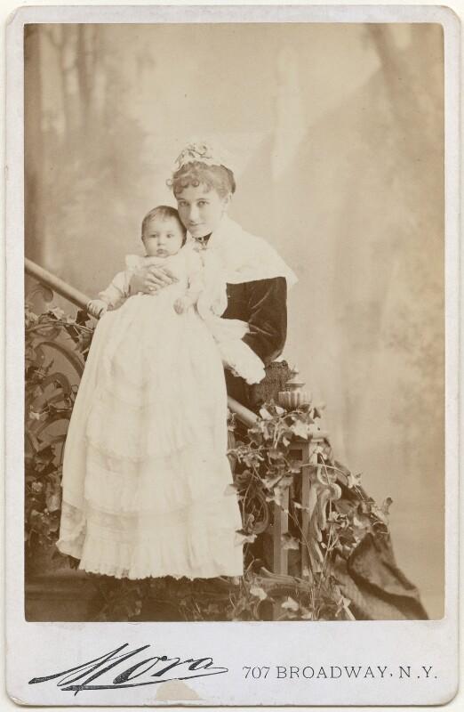 Mary (née Goelet), Duchess of Roxburghe; Mary Rita Goelet (née Wilson), by Jose Maria Mora, circa 1878 - NPG x197465 - © National Portrait Gallery, London