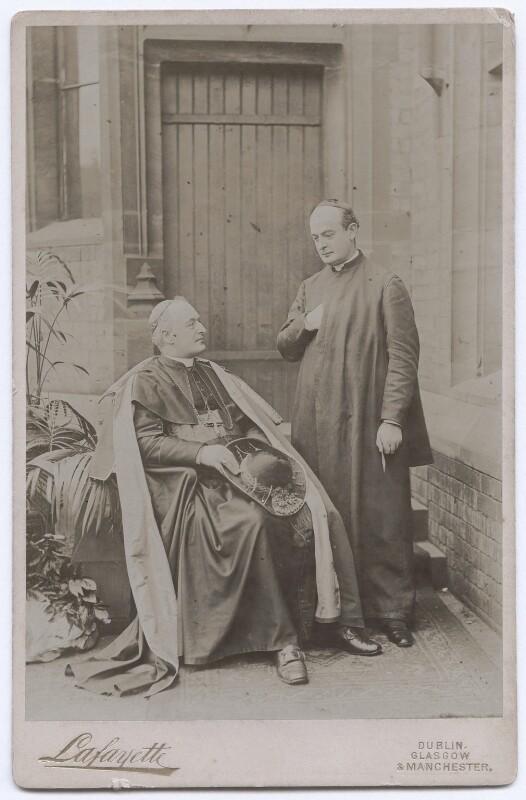 Herbert Alfred Henry Joseph Thomas Vaughan; Bernard John Vaughan, by Lafayette, early 1890s - NPG x197483 - © National Portrait Gallery, London