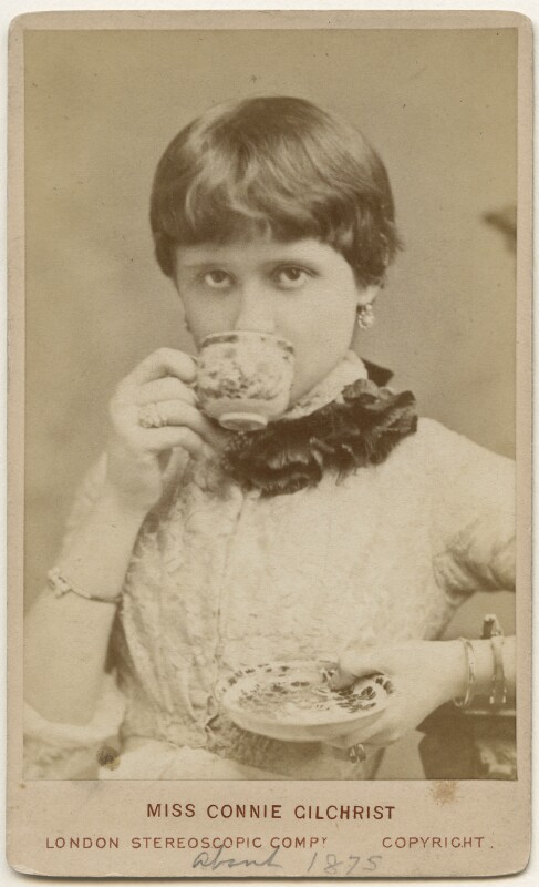 Constance ('Connie') (née Gilchrist), Countess of Orkney, by London Stereoscopic & Photographic Company, 1880s - NPG x197520 - © National Portrait Gallery, London