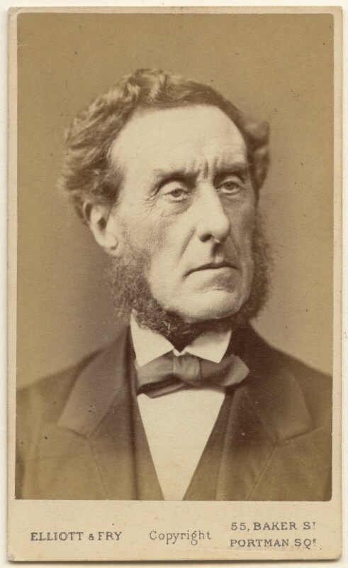 Anthony Ashley-Cooper, 7th Earl of Shaftesbury, by Elliott & Fry, 1870s - NPG x197551 - © National Portrait Gallery, London