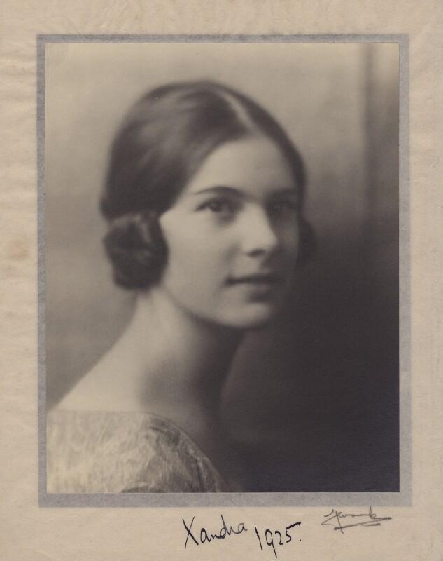 Lady Alexandra Henrietta Louisa Haig (later Alexandra Trevor-Roper, Lady Dacre), by Madame Yevonde, 19 December 1924 - NPG x182269 - © Yevonde Portrait Archive / Mary Evans Picture Library
