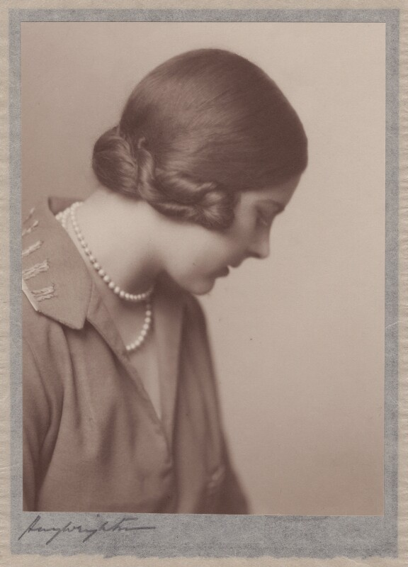 Lady Alexandra Henrietta Louisa Haig (later Alexandra Trevor-Roper, Lady Dacre), by Hay Wrightson, 1920s - NPG x182272 - © National Portrait Gallery, London